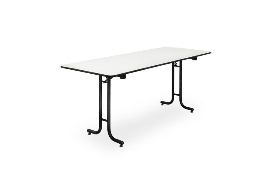 Banketttisch für 4 Personen, klappbar. Diesen Tisch können Sie bei uns im Sauerland mieten.