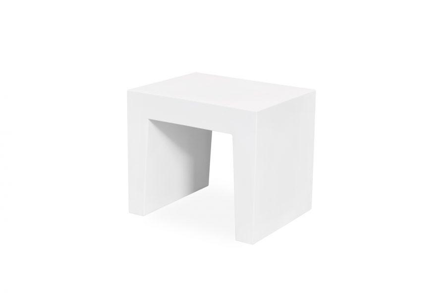 Fatboy - Concrete Seat Loungehocker weiß