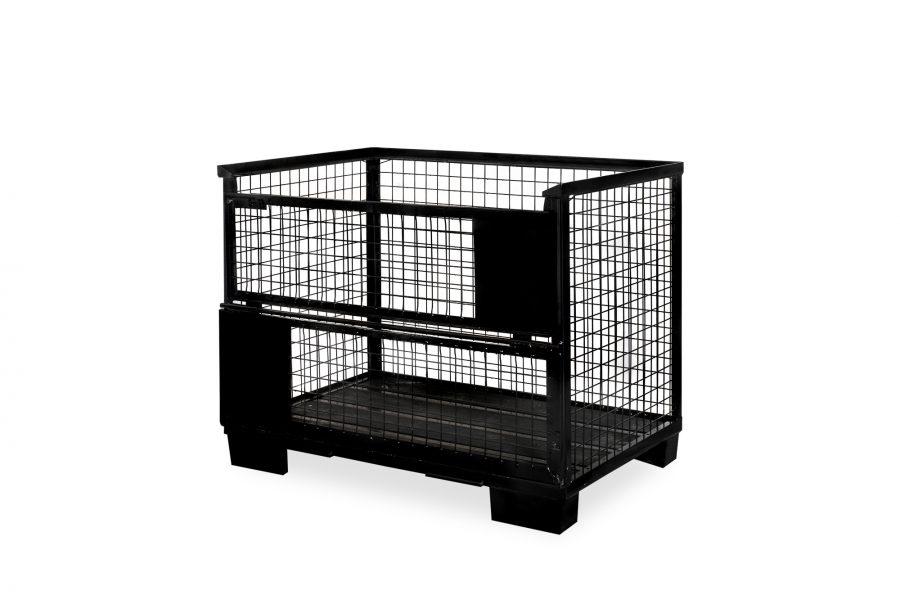 Gitterbox schwarz