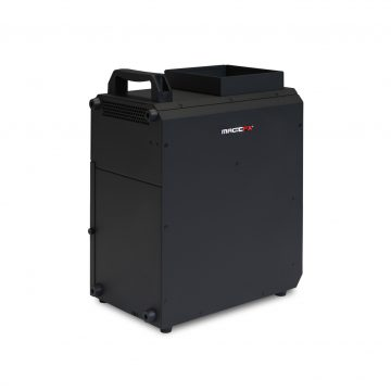 MagicFX 0901 SMOKEJET vertikal Nebelmaschine, 1550W, RGBA, LED, DMX512, Fernbed.